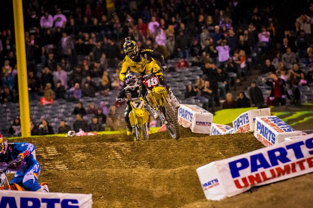 2013 Supercross: Anaheim 3 Race Photo Gallery