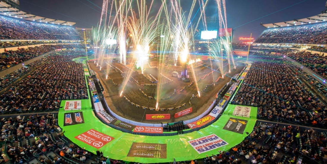 The 2016 Monster Energy Supercross Schedule