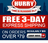 FREE 3-Day Express: For delivery by December 24th, order by Thursday, December 19th by 6PM ET