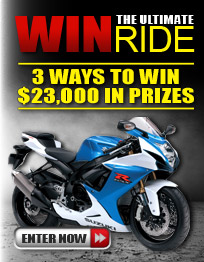 Enter The Ultimate Ride Giveaway