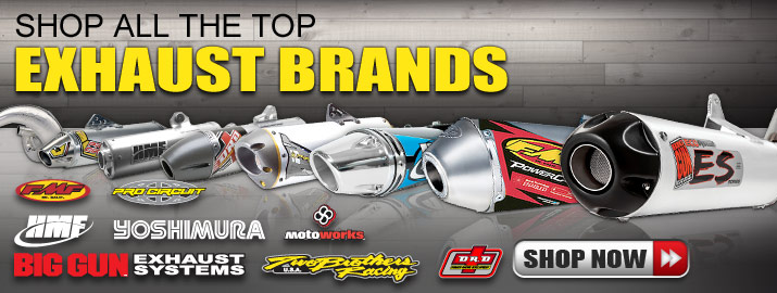 Shop All ATV Exhaust