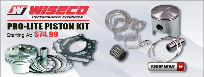 Shop All Wiseco Pro-Lite-Piston Kits