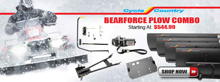 Shop Cycle Country Bearforce Plow Combo