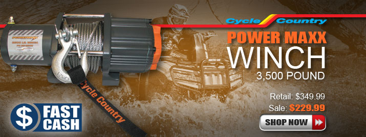 Shop Cycle Country Power Maxx Winch