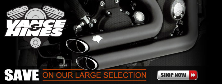 Shop All Vance & Hines Cruiser Exhaust