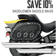 Saddlemen Saddle Bags - 10% Off