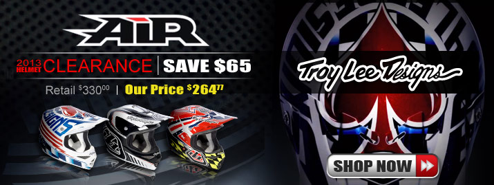 Shop All Troy Lee Designs Air Helmet Clearance