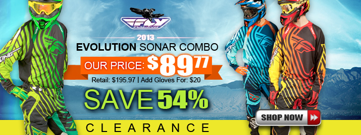 Shop 2013 FLY Evolution Sonar Combo