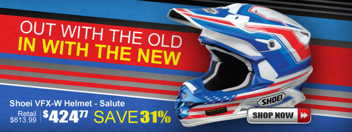 Shop Shoei VFX-W Salute Helmet
