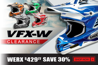 Shop Shoei VFX-W Clearance Helmets