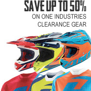 One Industries Clearance - Save up to 50%