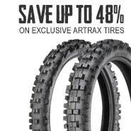 Save up to 48% on Artrax tires!
