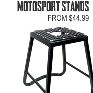 MotoSport Stand from $44.99!