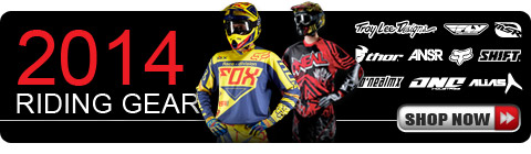 Shop All 2014 Riding Gear