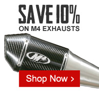 Save 10% on M4 Exhausts