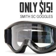 Smith SC Goggles $15!