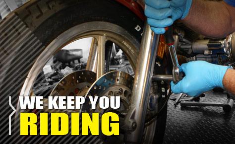 We Keep You Riding