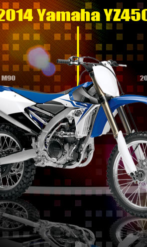 Dirt Bike: 2014 Yamaha YZ450F