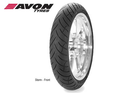  AVON STORM SPORT TOURING FRONT TIRE - 120/70R17