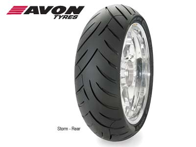  AVON REAR STORM SPORT TOURING 190/50R17