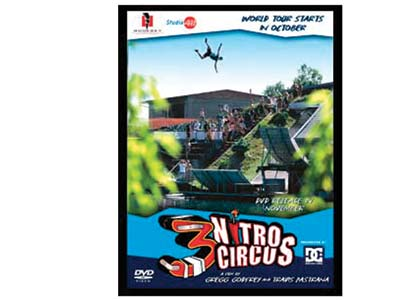 TRAVIS & THE NITRO CIRCUS 3 DVD
