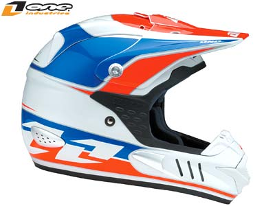 2008 ONE INDUSTRIES TROOPER HELMET - DAVID BAILEY