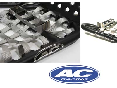 AC RACING BLACKLINE PRO-PEG NERF BARS - BLACK