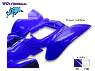 FULLBORE RACE REAR FENDER BLUE