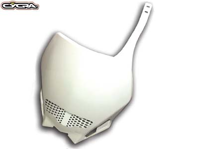 CYCRA STADIUM 1/2 VENT NUMBER PLATE YZ/YZF - WHITE SCREEN