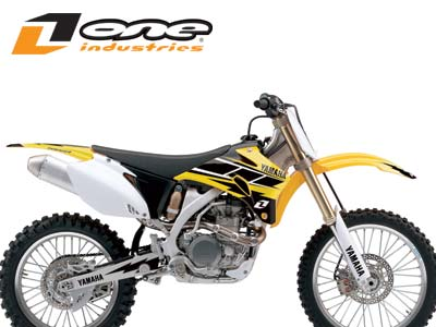 2008 ONE INDUSTRIES HURRICANE GRAPHICS KIT YAMAHA