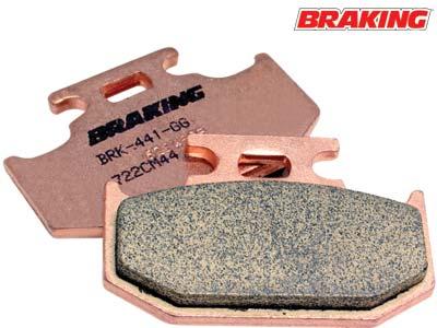 BRAKING CM44 REAR BRAKE PADS