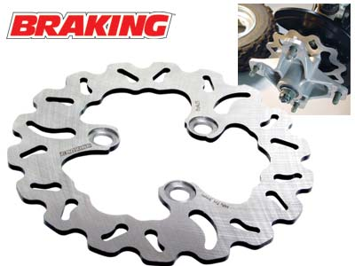 BRAKING RACE BRAKE ROTOR - REAR