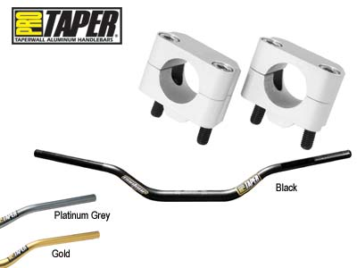 PRO TAPER UNIVERSAL BAR MOUNTS WITH CONTOUR BARS