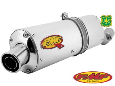 FMF Q SERIES SPARK ARRESTOR SLIP-ON EXHAUST