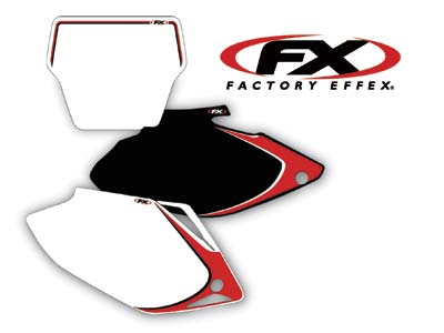 2008 FACTORY EFFEX PRE-PRINTED BACKGROUNDS WHITE HONDA