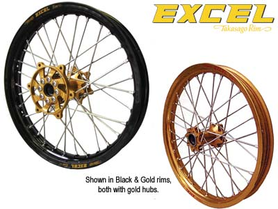  EXCEL PRO SERIES COMPLETE FRONT WHEEL