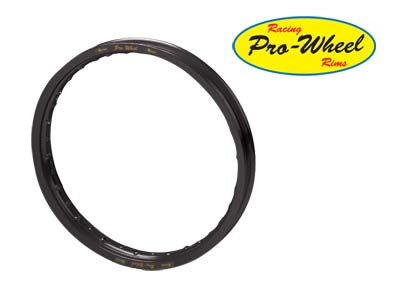  14&amp;quot; BLACK REAR PRO WHEEL RIM