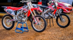 Choosing a 250 2-stroke or 450 4-stroke dirt bike