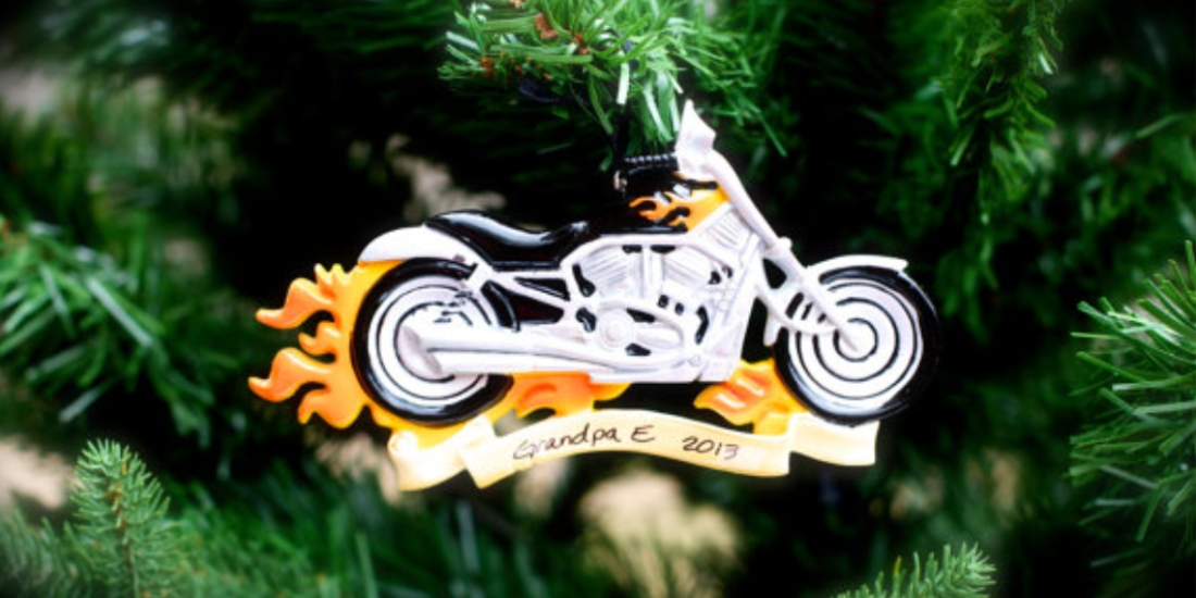 The 12 Worst Motorcycle-Themed Christmas Ornaments We Could Find ...