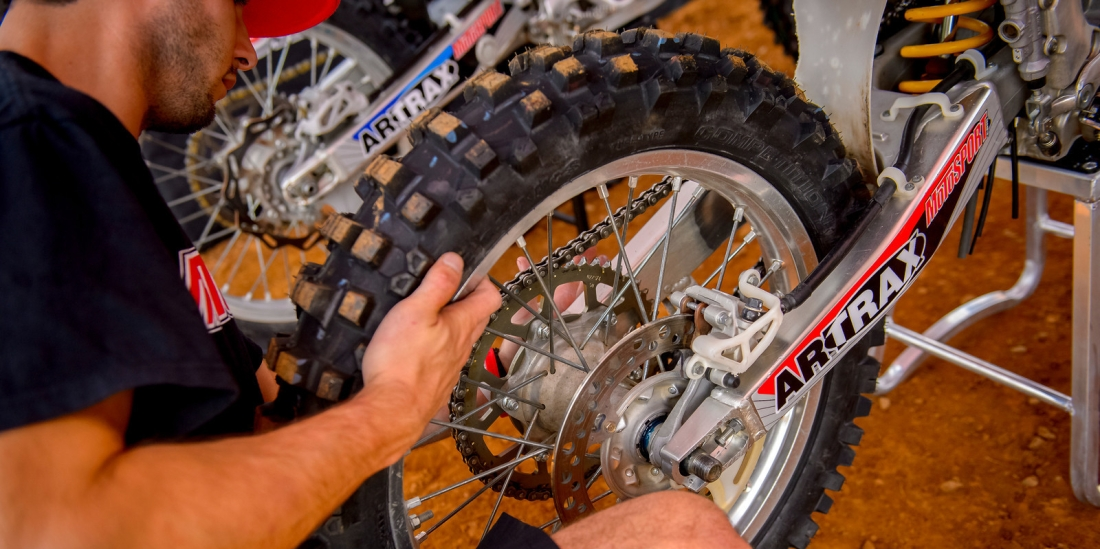 How To Tighten A Dirt Bike Chain Motosport