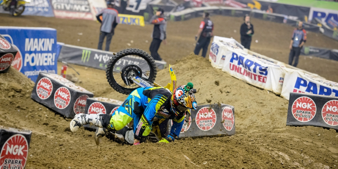 Motocross Crashes - What To Do and What Not To Do | MotoSport
