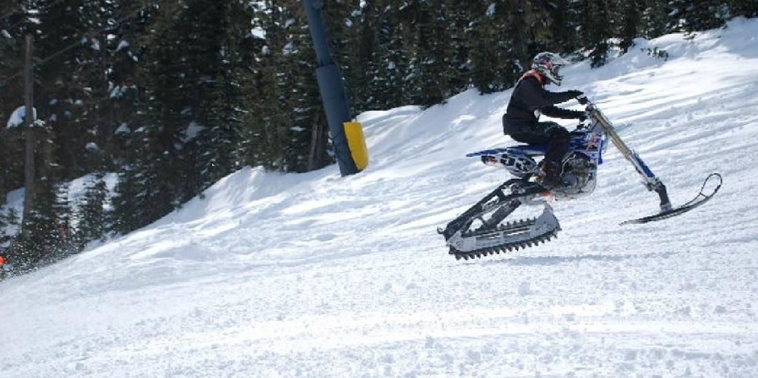 Snow Dirt Bike >> Convert Your Dirt Bike Into A Snowbike Motosport