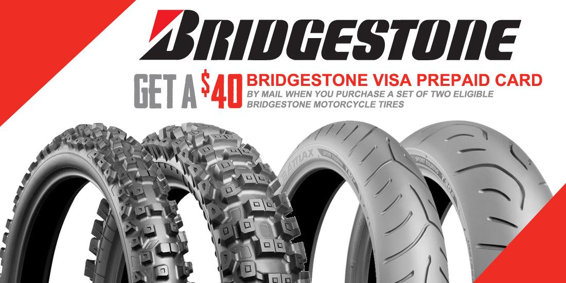 2015 Bridgestone Tire Promotion Rebate Expires April 11 Motosport